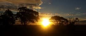 'Beautiful dusk at Wheatbelt (2)' - by Subin Daniel (30 yrs)