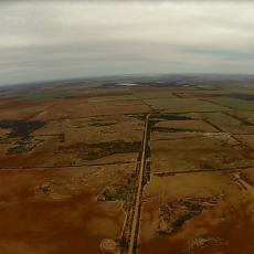 Aerial Photo of the Eastern Wheatbelt WA